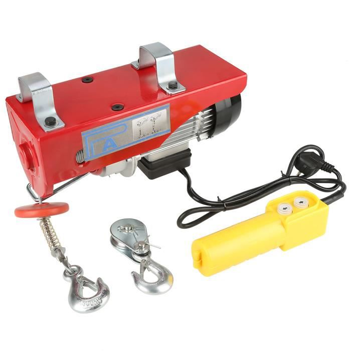 MILL - 100 / 200kg Treuil à Câble Electrique Treuil-Palan Electrique Avec Contrôle pour la Maison Atelier Garage