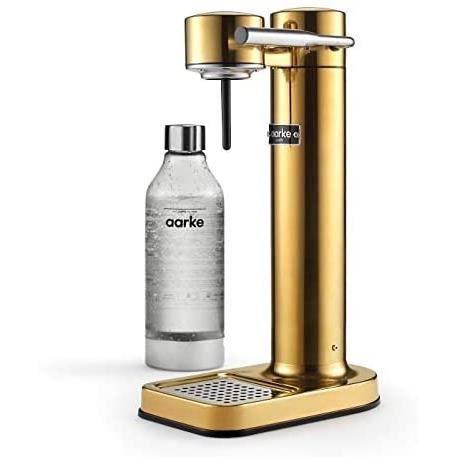 BOUILLOIRE ELECTRIQUE Aarke Carbonator II - Machine &agrave eau p&eacutetillante, Acier Inox, Bouteille PET incluse, compatibl386