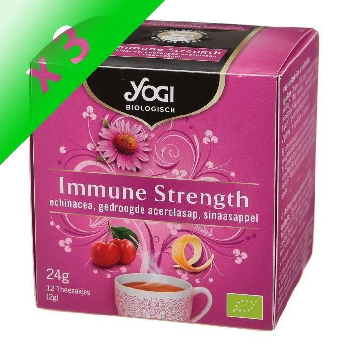 [LOT DE 3] Infusion défense immunitaire 21,6 g YOGI