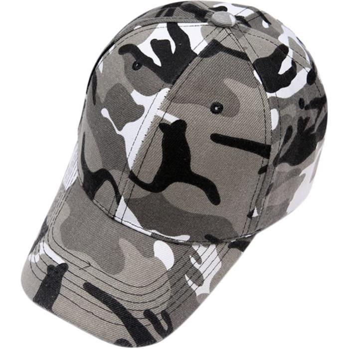 Casquette Camouflage Baseball Cap Sport Femmes Coton Tissu Respirant Outdoor Casual Chapeau de Soleil Casquettes de Camionneur Hat