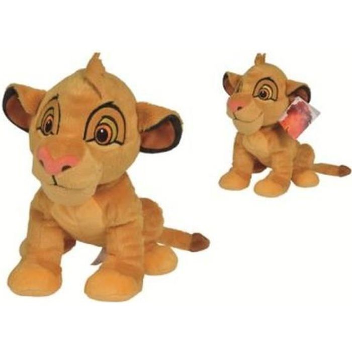 DISNEY ROI LION Peluche Simba - 25 cm