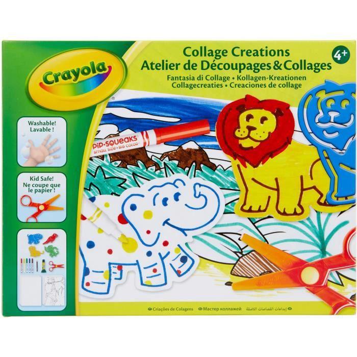 Crayola - Atelier de Découpages & Collages - Activités pour les enfants