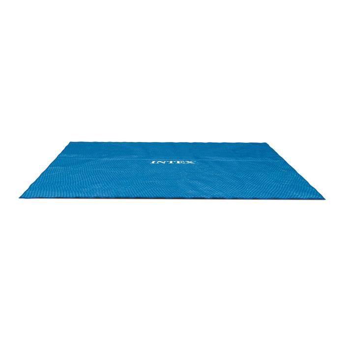 Intex bâche a bulles rectangulaire 7,16m x 3,46m pour piscine rectangulaire 7,32m x 3,66m