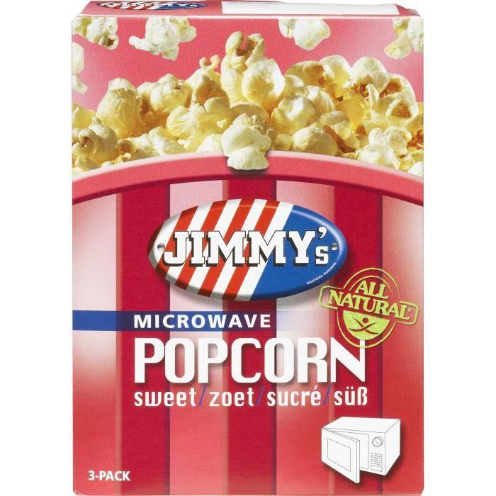 Pop corn Micro onde sucré 3x90g