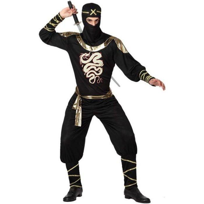 ATOSA Deguisement De Ninja - Panoplie Adulte