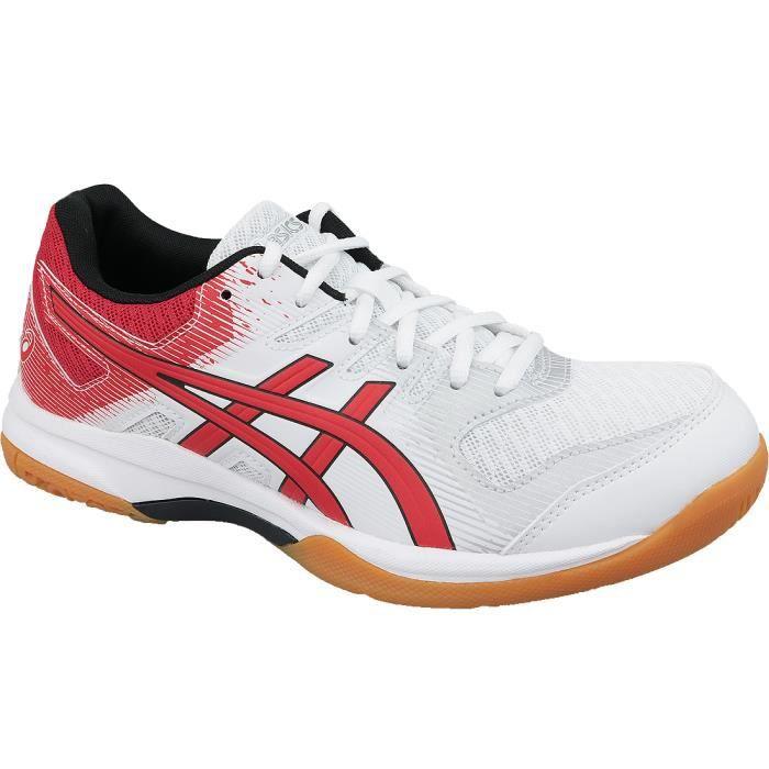 Asics Gel-Rocket 9 1071A030-101 chaussures de volley-ball pour homme Blanc