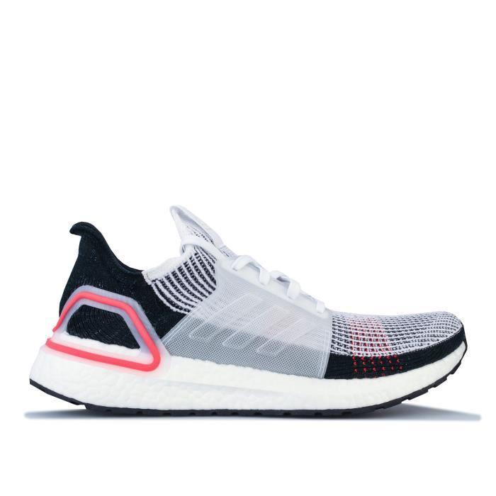 Chaussures De Course Adidas Ultraboost 19 Pour Homme En Rouge.