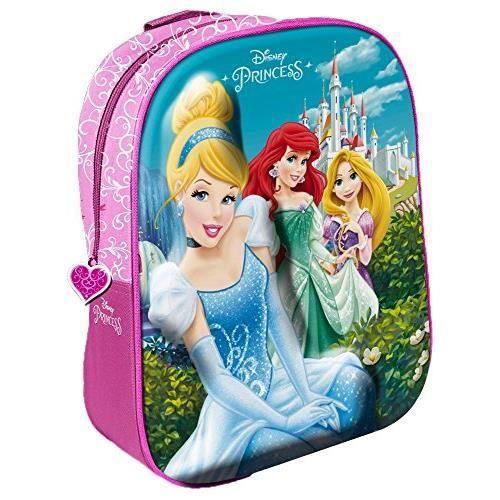 Star Licensing Sac à Dos Enfants, Multicolore (Multicolore) - 42927 Star Disney Princess_42927