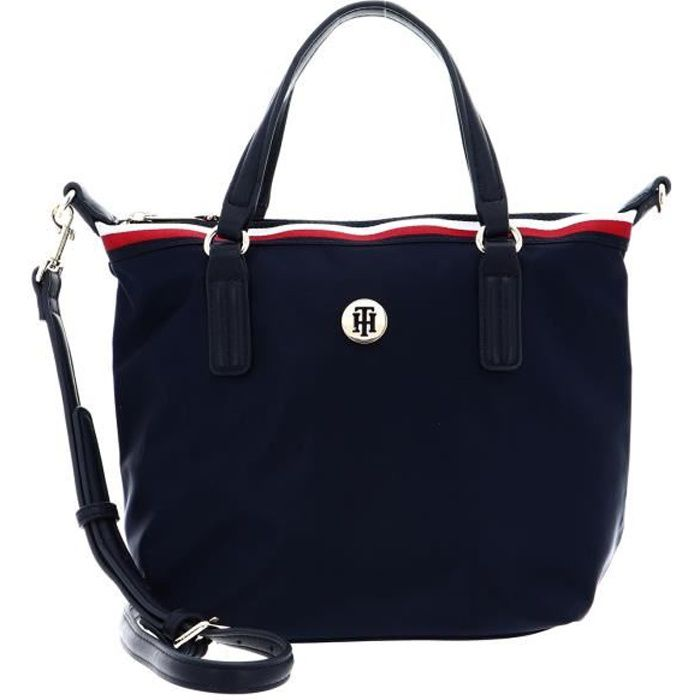 TOMMY HILFIGER Poppy Small Tote Corp Sky Captain [113980]
