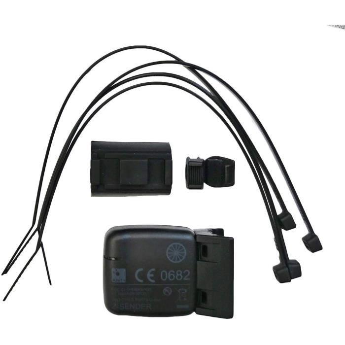 VDO 6602 Capteur de Vitesse Ant+ Numérique Vitesse Capteur Compatible Avec Wahoo Élément Mini