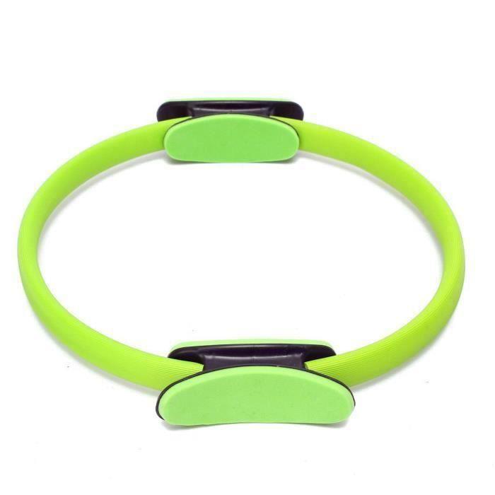 QZ-Pilates Anneau d'exercice cercle de resistance Anneau d'entrainement Anneau de yoga vert