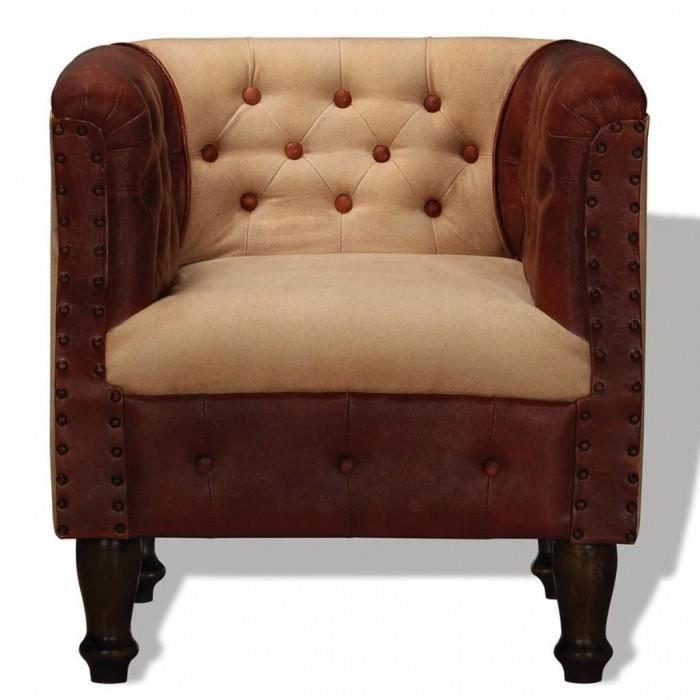 Maine Furniture Co Paillasson avec Bordure Marron 40 x 70 cm