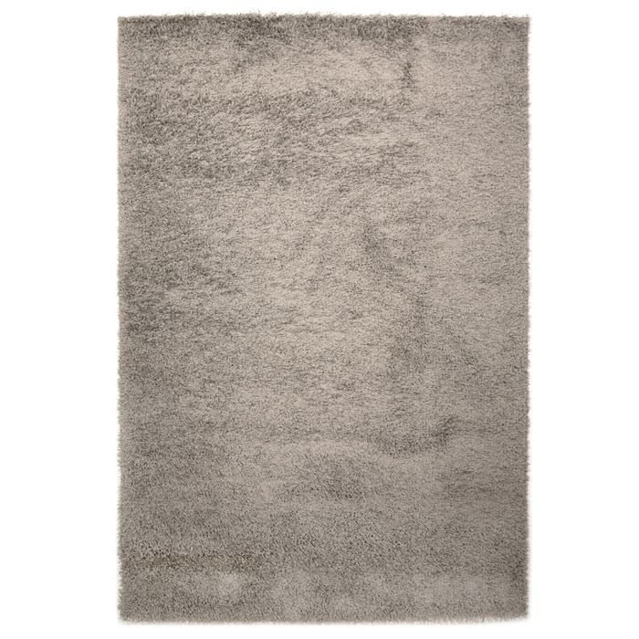 tapis shaggy longue m che gris 200x290cm achat vente tapis cdiscount. Black Bedroom Furniture Sets. Home Design Ideas