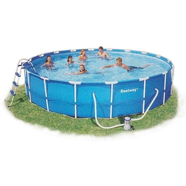 Piscine autoportante tubulaire piscine ronde achat for Piscine autoportante