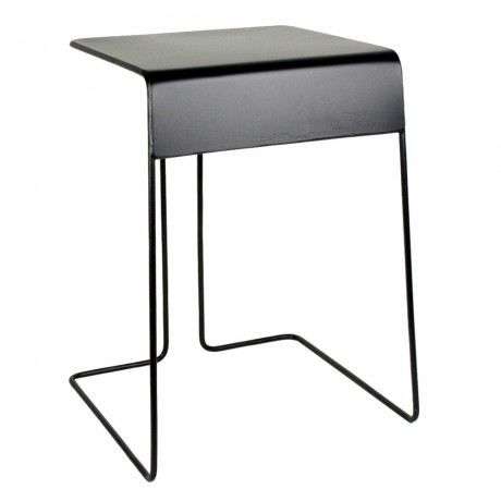 comingb selette tabouret m tal comingb noir achat vente tabouret cdiscount. Black Bedroom Furniture Sets. Home Design Ideas