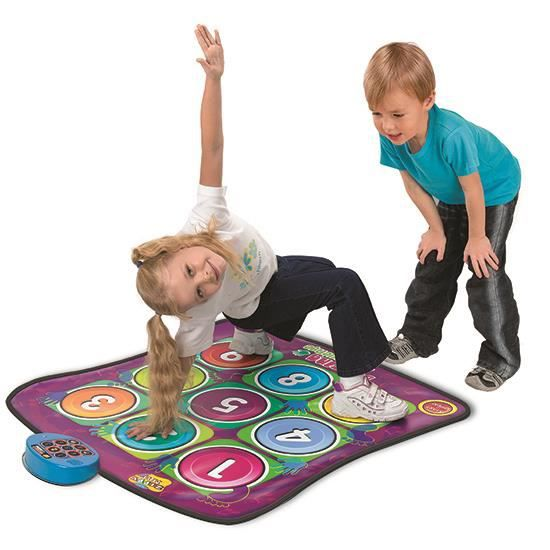 tapis de danse pour enfant multicolore neuf 07 achat vente simulateur tapis de danse. Black Bedroom Furniture Sets. Home Design Ideas