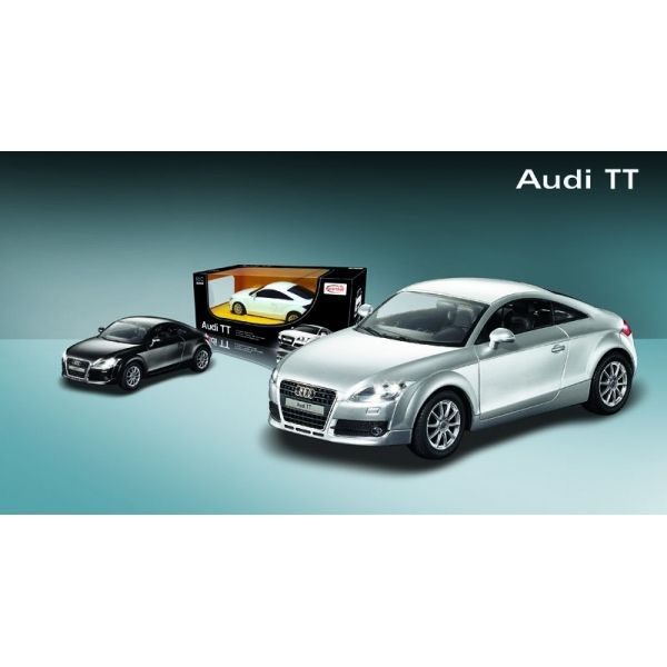 audi tt coup 1 24 argent achat vente voiture construire cdiscount. Black Bedroom Furniture Sets. Home Design Ideas