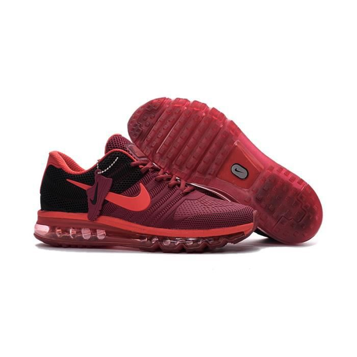 the latest de597 21ebf Baskets Nike Air Max 2017 KPU Chaussure de Running Homme 42 rouge ...