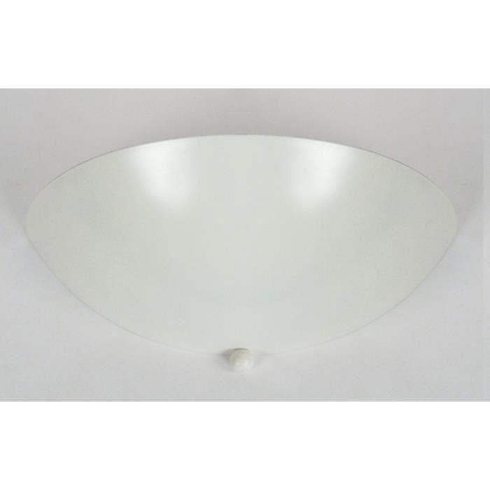 APPLIQUE  Appliques DEMI-LUNE TOSEL Blanc Dimensions: 28 x 9