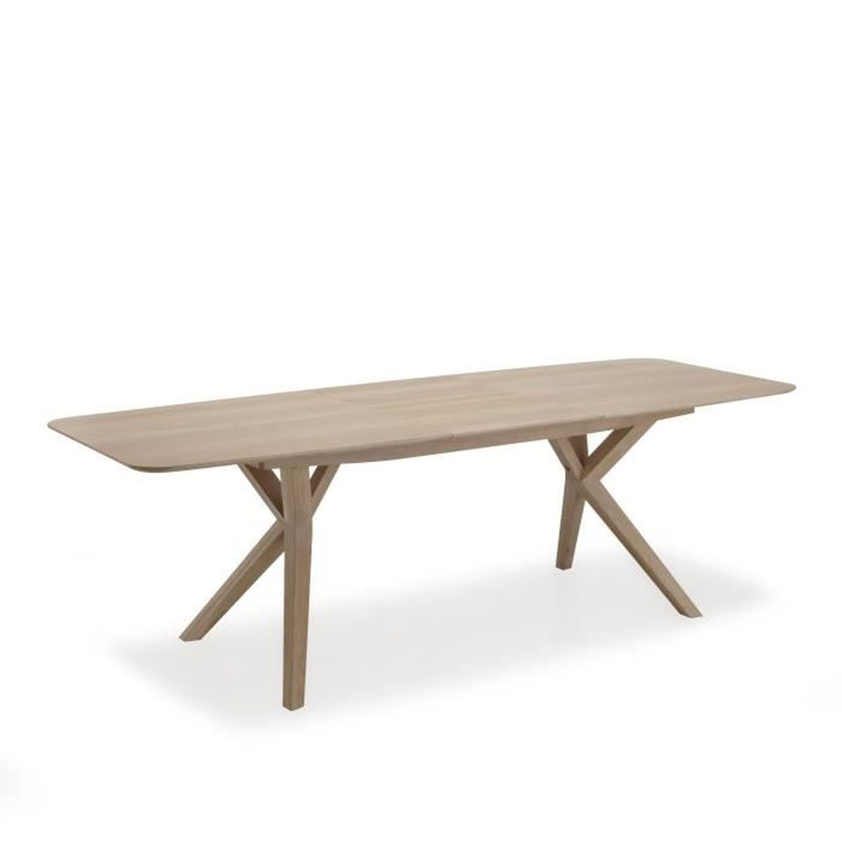 L onie table extensible avec allonge papillon l 185cm for Table a manger avec allonges