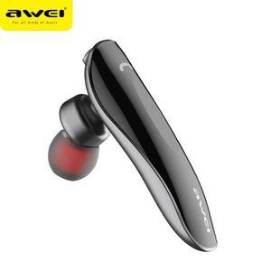 OREILLETTE BLUETOOTH Awei N1-Gris Oreillette Bluetooth sans fil casque