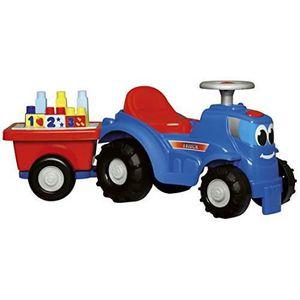 ASSEMBLAGE CONSTRUCTION Jouets Ecoiffier -7799 - Tracteur avec remorque Ab