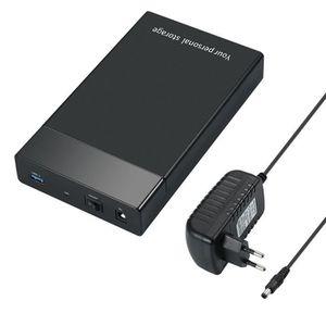 HOUSSE DISQUE DUR EXT. Sata III à USB 3.0 HD HDD boîtier disque boîtier d