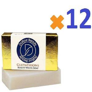 SAVON - SYNDETS 12 x Dalfour Beauty Gold feuille de blanchiment de