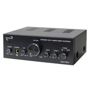 AMPLIFICATEUR HIFI AMPLIFICATEUR AMPLI AUDIO 2 X 25W MAX 3 ENTREES RC