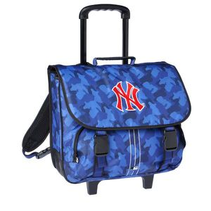 CARTABLE Cartable à roulettes New york Yankees Bleu Trolley