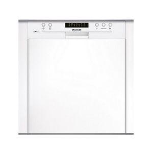 LAVE-VAISSELLE Brandt - lave-vaisselle 60cm 14c 44db a++ intégrab