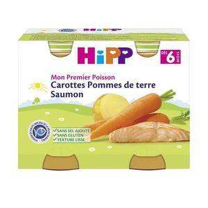 PLATS PRÉPARÉS SOIR HIPP BIOLOGIQUE Mon premier poisson Petit Pot Caro