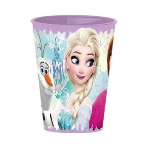 VERRE JETABLE Gobelet La Reine des Neiges plastique Frozen Javo