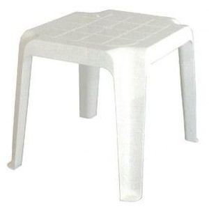 table basse marbelha blanc joluce sotrapa achat vente table basse jardin table basse. Black Bedroom Furniture Sets. Home Design Ideas