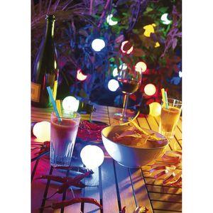 GUIRLANDE LUMINEUSE INT Guirlande festive intérieur / extérieur (multicolo
