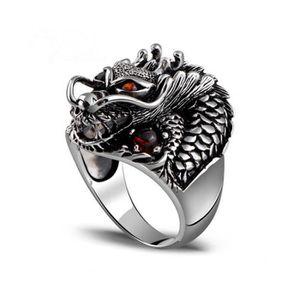 bague homme dragon
