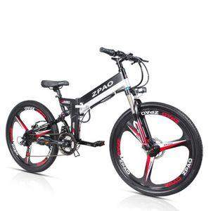 VTT ZPAO 21 vitesses, 48V, vélo électrique pliant, vél