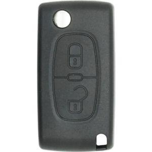 BOITIER - COQUE DE CLÉ Coque de clé compatible Peugeot-Citroën 2 boutons
