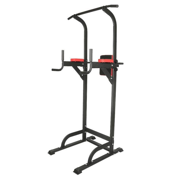 Keisha Chaise Romaine Station Traction dips Multifonctions Barre de Traction dips Banc de Musculation Power Tower