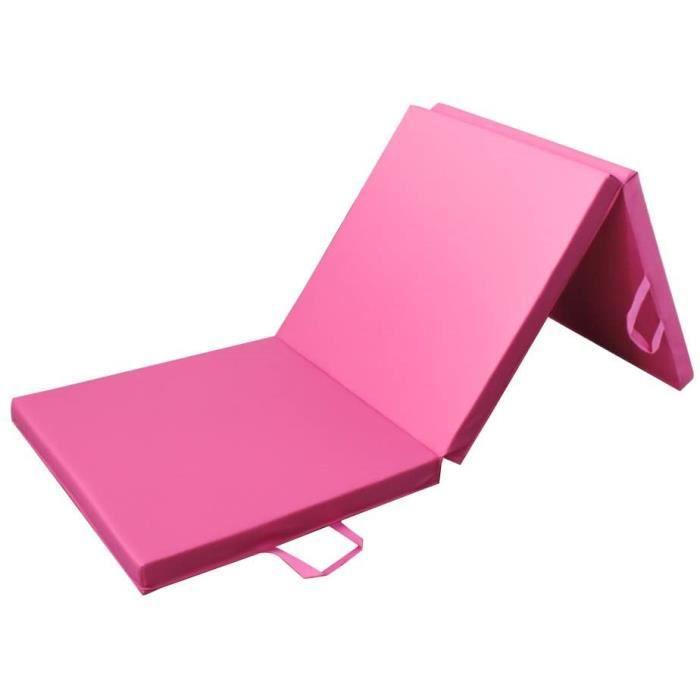 PRISP Tapis de Sol 180cm pour Fitness et Exercices, Matelas de Gym Épais et Pliable pour la Maison Longueur: 180 cm * Largeur: 60cm