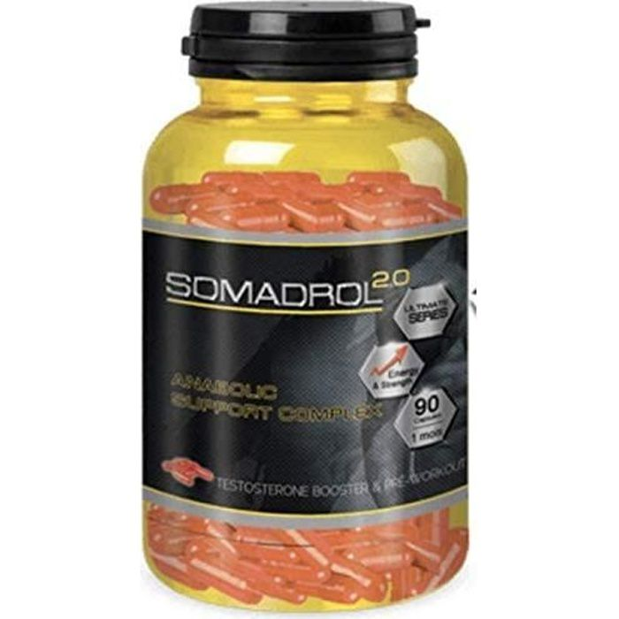 Somadrol - Booster d'Entrainement Musculaire