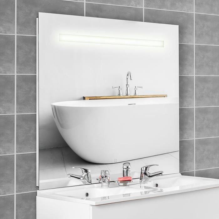 Miroir ELEGANCE 140x105 cm - éclairage intégré à LED et interrupteur sensitif