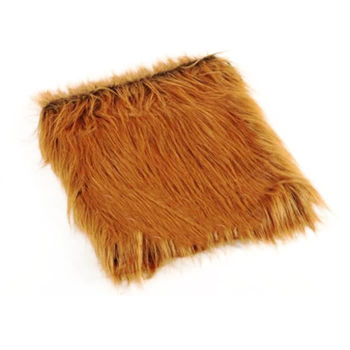 Chien Perruque Pet Head Coat Nouveau Costume Polyester 4 Couleurs Fantaisie