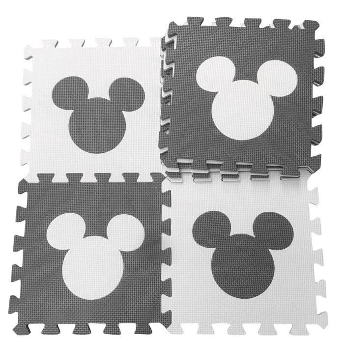 Tapis d'éveil,Tapis de jeu Marjinaa 10-20 pièces gris blanc bébé EVA mousse puzzle-tapis de sol d'exercice - Type huibaiMQ-10PCS