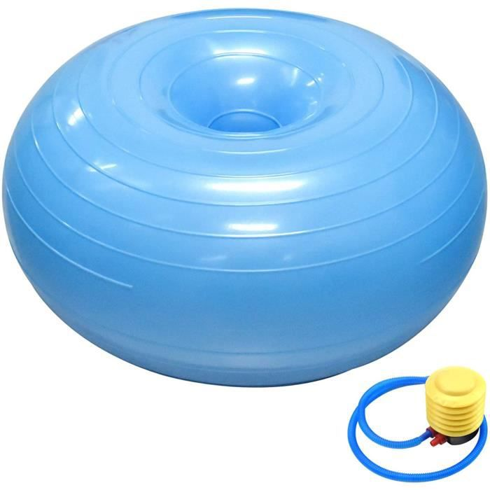 BALLON SUISSE - GYM BALL - SWISS BALL Chstarina Yoga Ball 50 * 30 cm Balle de Pilates Ballon de Gymnastique Rythmique - Rose et 64