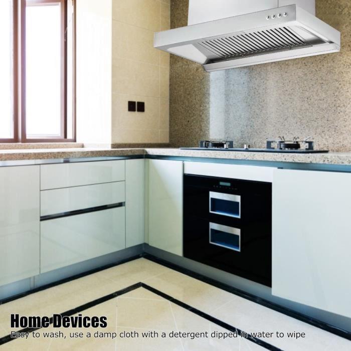 Hotte murale à flux d'air Hotte aspirante Appareils de cuisine ménagers (prise UE 220 V)-GXU