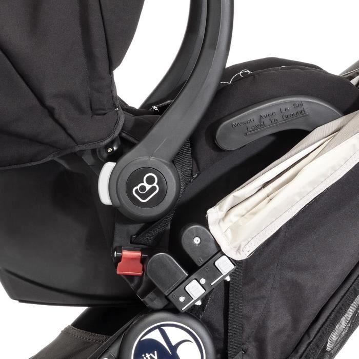 BABY JOGGER City Mini/GT/Elite - Adaptateur pour siège-auto Chicco/Peg Perego