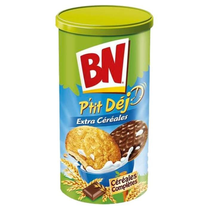 BN Petit Déjeuner Extra Céréales 200g (lot de 10 x 3 boîtes)