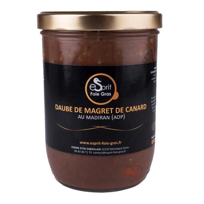 L'émotion d'une daube au saveur du canard du Gers et la force du parfum d'un vin du terroir gascon. Pour 2 à 3 personnes.