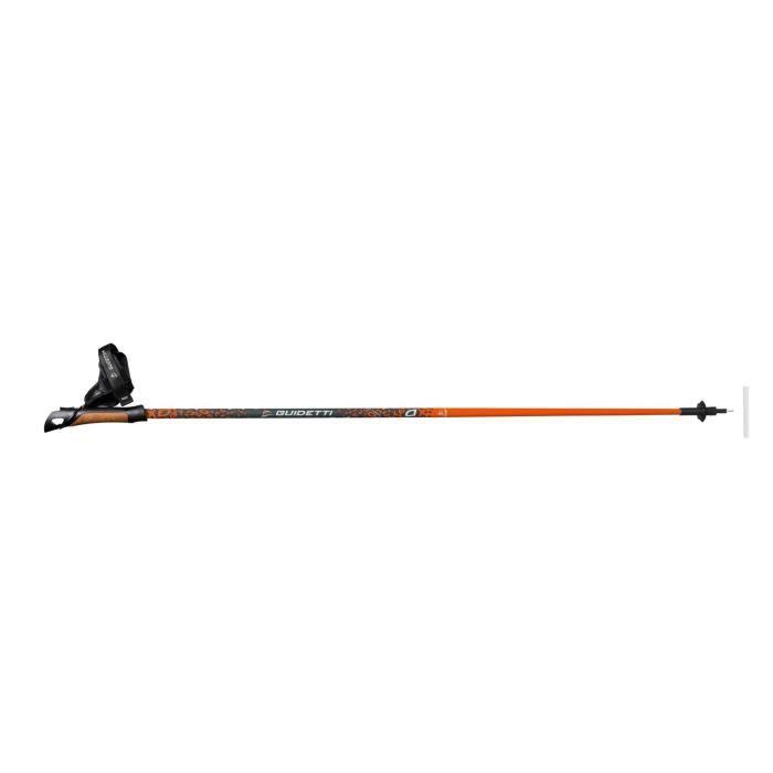 Bâtons Vent des Fjords Ultra Tech 50 - mixte 120 cm Orange